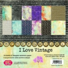 Craft and You I Love Vintage 12x12